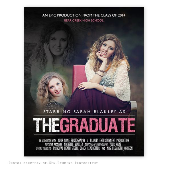 The Graduate Movie Poster Template