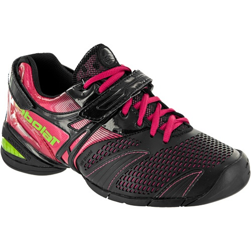 9441e194ce24 Click Image Above To Purchase  Babolat Propulse 3  Babolat Women s Tennis  Shoes Black pink green