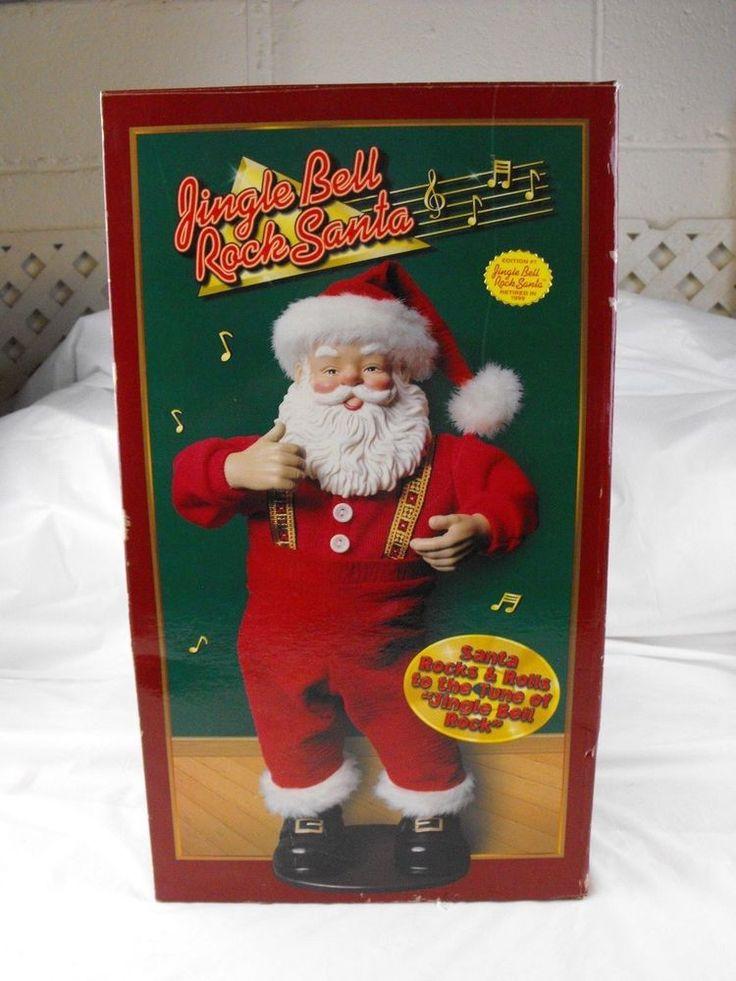 Jingle Bell Rock 1998 Animated Dancing Santa Christmas Fantasy Box Adapter Christmasfantasy Holiday Music Animated Christmas Dancing Santa