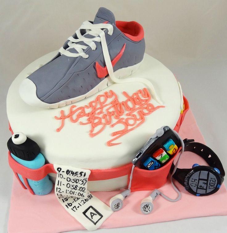 Marathon Runners Cake — Birthday Cakes