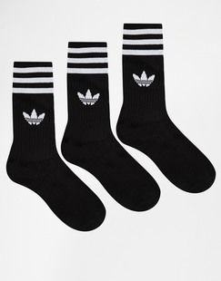 ASOS adidas Originals Solid Crew Socks Found on my new favorite app Dote Shopping #DoteApp #Shopping