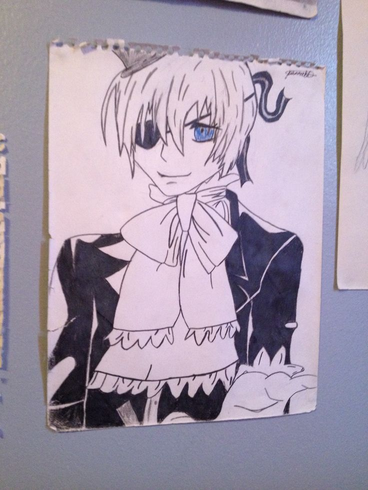 Ciel anime black buttler
