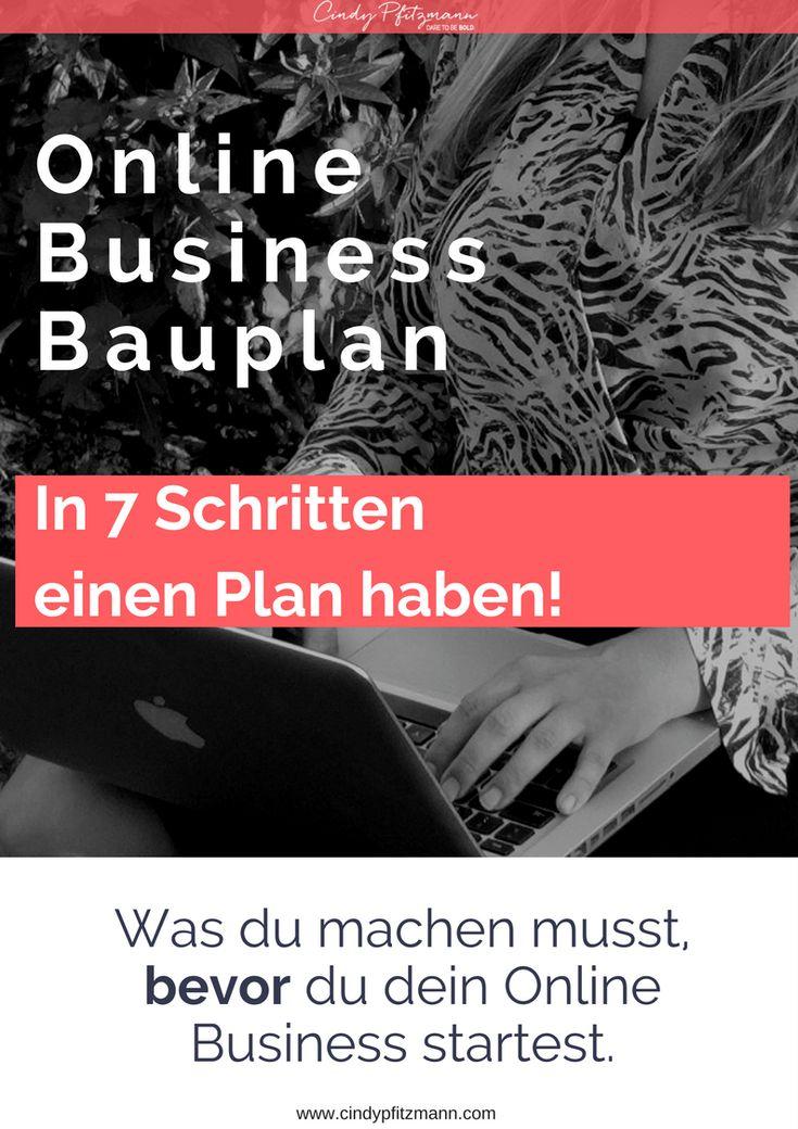 Online Business Bauplan --> http://cindypfitzmann.com