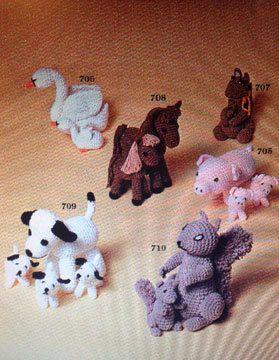 Crochet Patterns Of Cartoon Characters Free Crochet Patterns