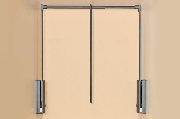 Лифт для одежды, отделка коричневая - Макмарт