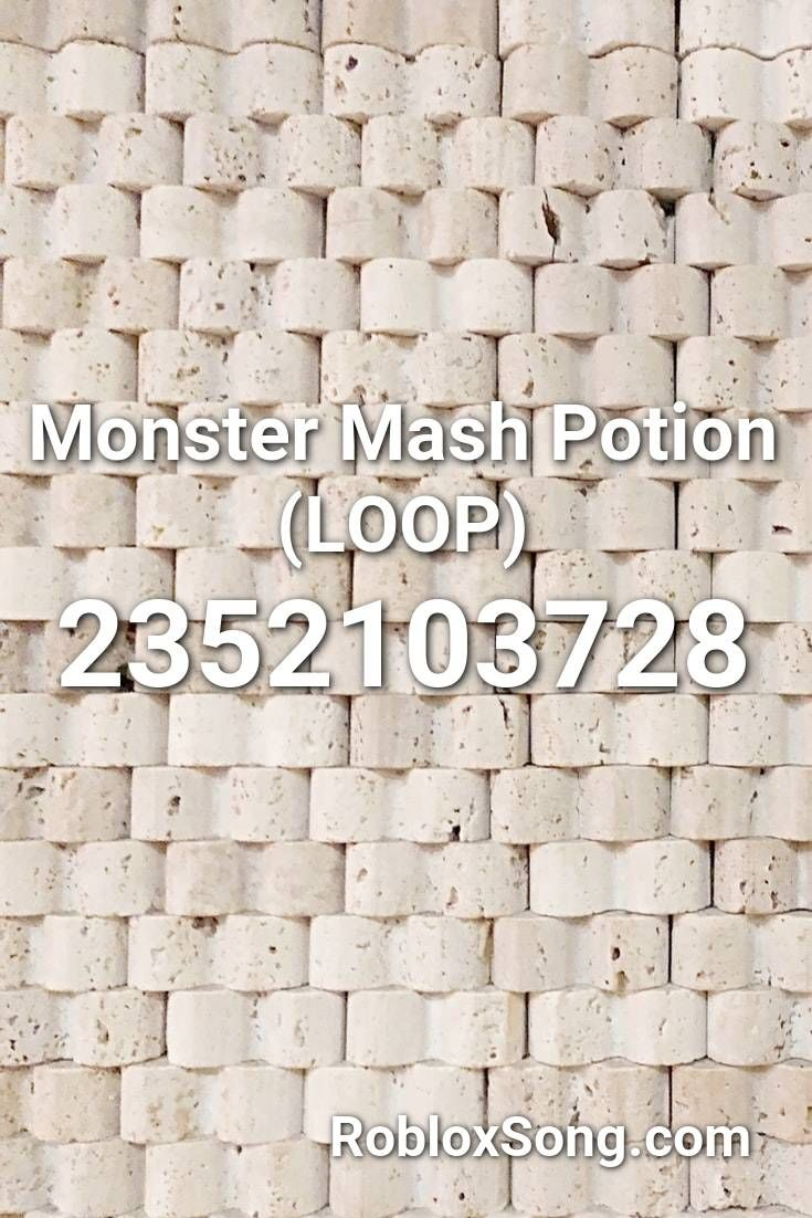 Monster Mash Potion (loop) Roblox ID Roblox Music Codes