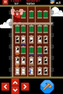 Fix-it Felix Jr., Retro iOS Game Featuring Wreck-It Ralph
