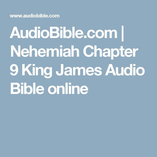 AudioBible.com   Nehemiah Chapter 9 King James Audio Bible online