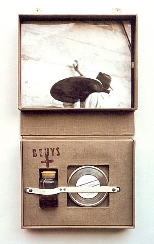 Joseph Beuys, Celtic 1971 I enjoy the box like structure of this image and the way it looks like it is a package