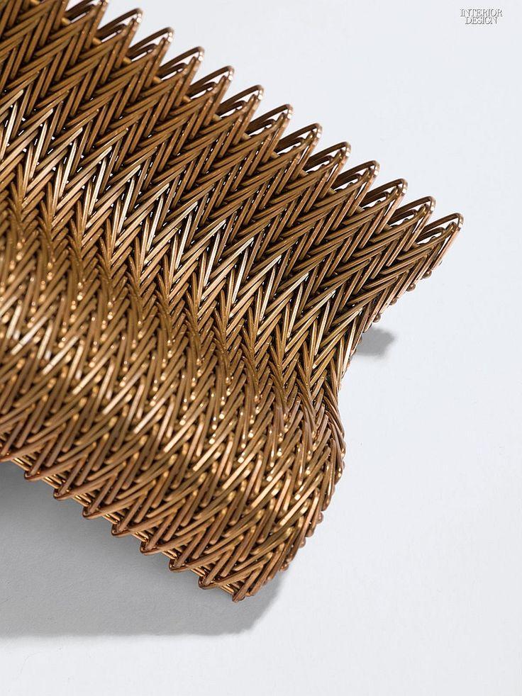 MCX Matter: 5 Inventive Mesh Materials | Companies | Interior Design. Material: Charley Bravo. Manufacturer: Twentinox. Composition: Spiral wire.