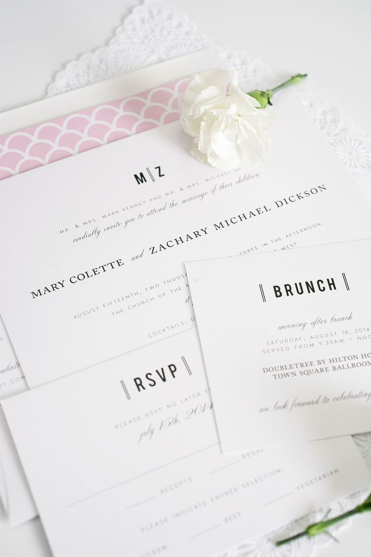 33 Best Wedding Invitation Suites Images On Pinterest Wedding