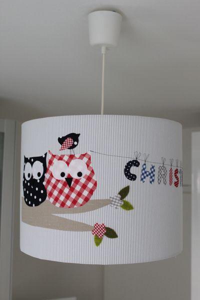 "Maxi-Lampenschirm ""großes Eulenglück"""