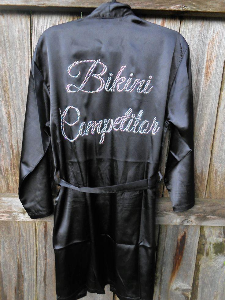 Bikini Competitor Robe
