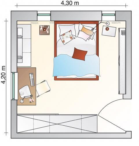 grundr_sw200402117   new space   pinterest   nachher, einrichten, Schlafzimmer ideen
