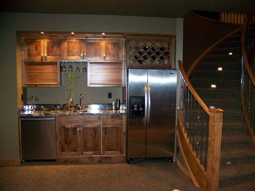 Basement Wet Bar | ... Into The Wall Wet Bar Design And Build Wet