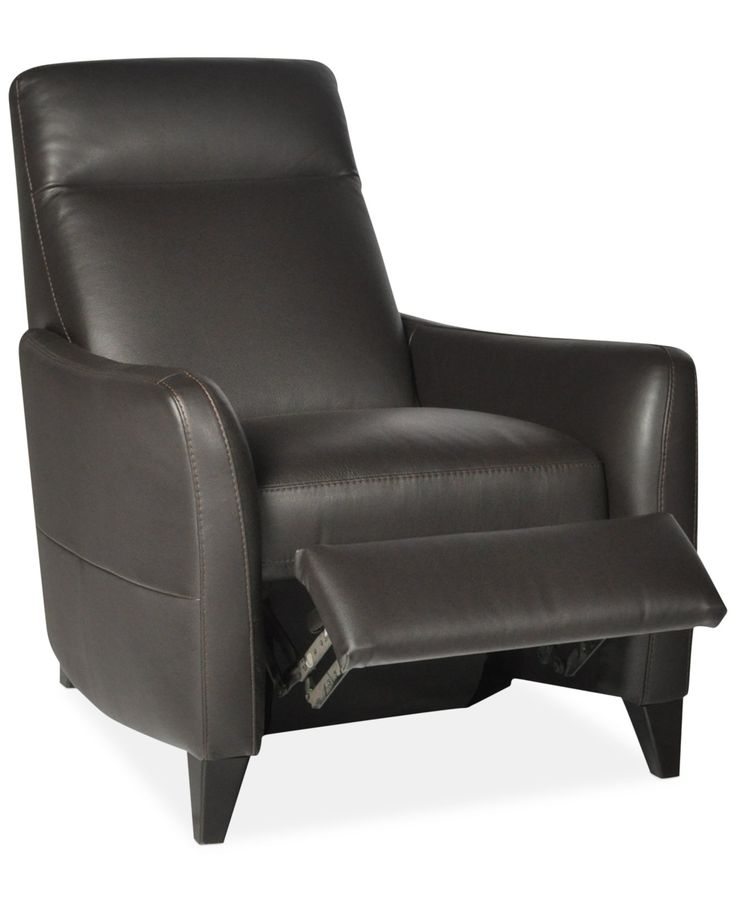 Declan Leather Pushback Recliner Chairs Furniture