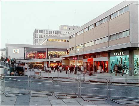 The 1970's complex soon after opening