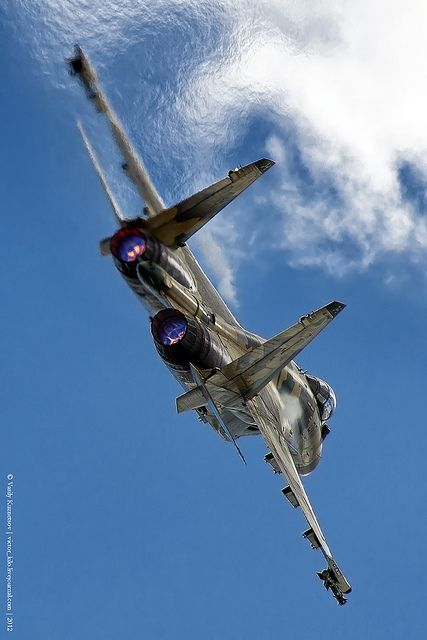 Sukhoi Su-35 performing at Russian Airforce 100th Anniversary show by foo_fighter_spotting