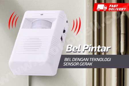 Bel pintar dengan teknologi sensor gerakan hanya Rp 39.900 http://www.groupbeli.com/view.php?id=772