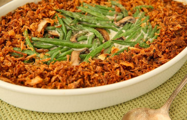 Green Bean Casserole (from scratch!) | The Daily Dish