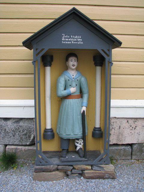 Evijärven kirkon vaivaisukko