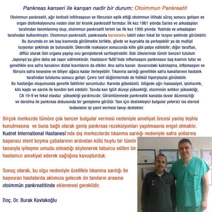 Otoimmun Pankreatit nedir? #kudrteinternational #hastane #saglik #otoimmun #pankreatit #ankara #turkiye #turkey
