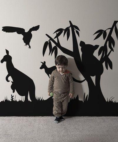 Best 25 vinyl wall art ideas on pinterest vinyl wall for Australian mural