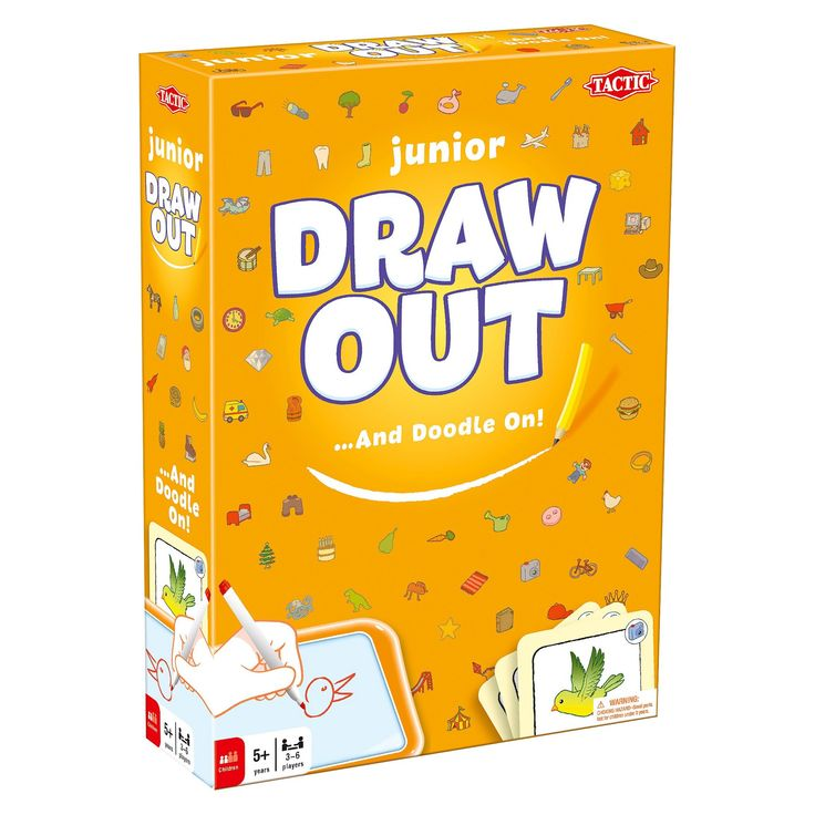 Draw Out Junior Drawing Game for Kids