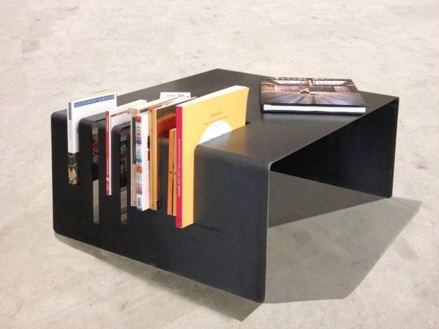 The family of tables RIT is composed of two coffee table with hybrid function between the container and the support. RIT is a table which, without being volumetrically closed, contains books and interacts with the user as the content is exposed to the sight and ready for use. is thought to be located in areas for relaxation and conversation of the indoor environment and also in open spaces. RIT is available in two different sizes. www.silviaguarnieri.eu