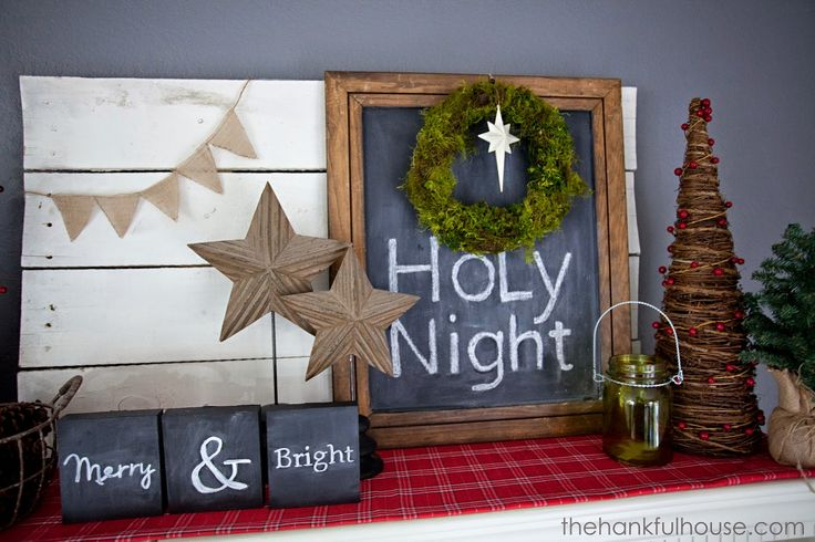 o holy night christmas mantle ho ho ho christmas ideas