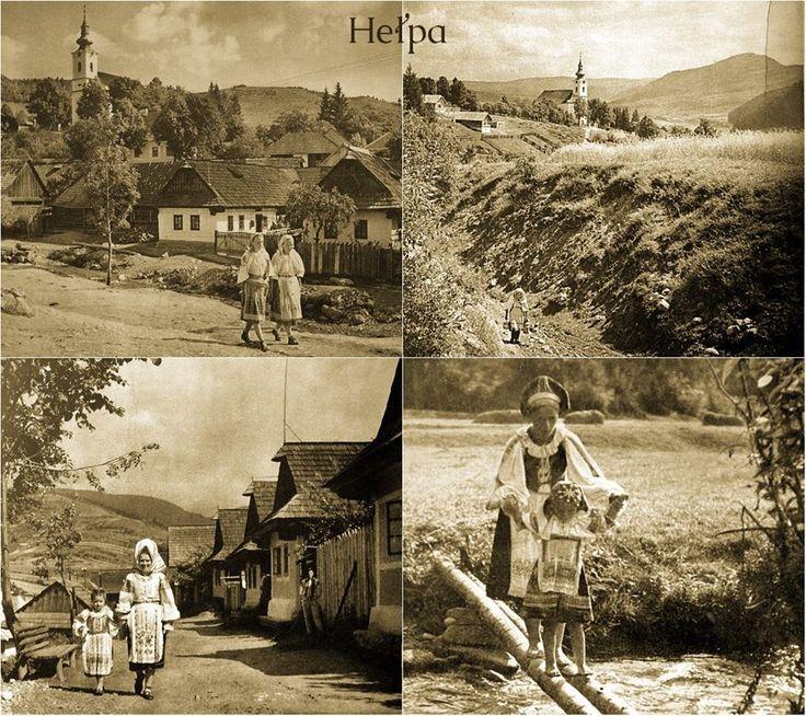 Heľpa, Slovakia, 50-te roky