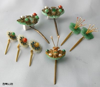 Korean hair accessories