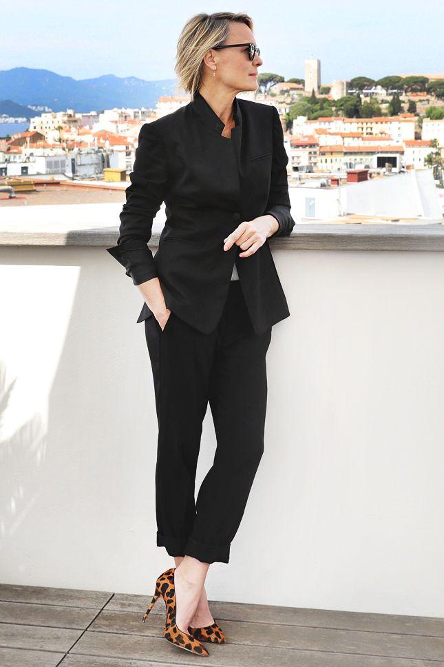 Робин Райт в Stella McCartney на Women in Motion' Talks в Каннах | Мода | VOGUE Live | VOGUE