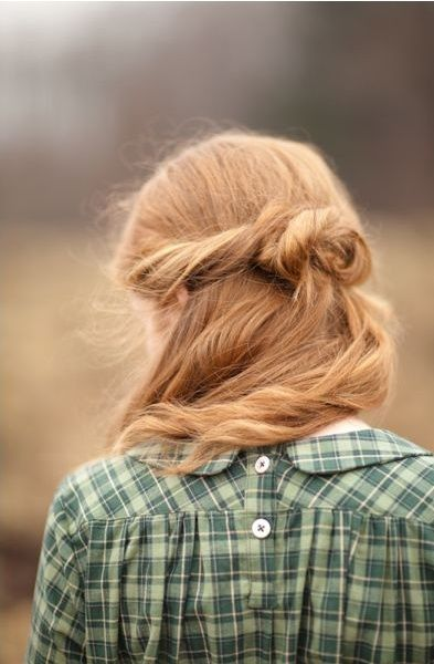I want my hair this color. Like the hair of a young girl out of a Renoir.