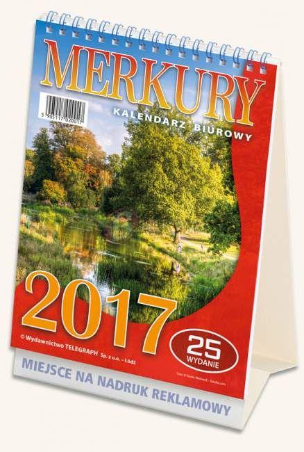 Kalendarz biurowy Merkury 2017_1