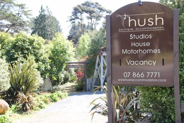 Hush Boutique Accommodation in Coromandel New Zealand