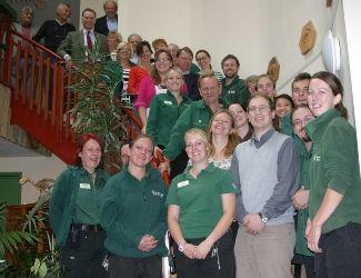 Marwell Wildlife staff celebrate IIP Silver