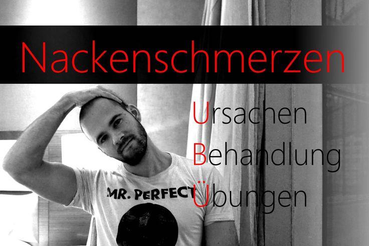 Nackenschmerzen - Beste Übungenen zum Lösen - Verspannung oberer Rücken ...