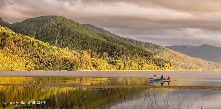 Lago Lanalhue, región del Biobio