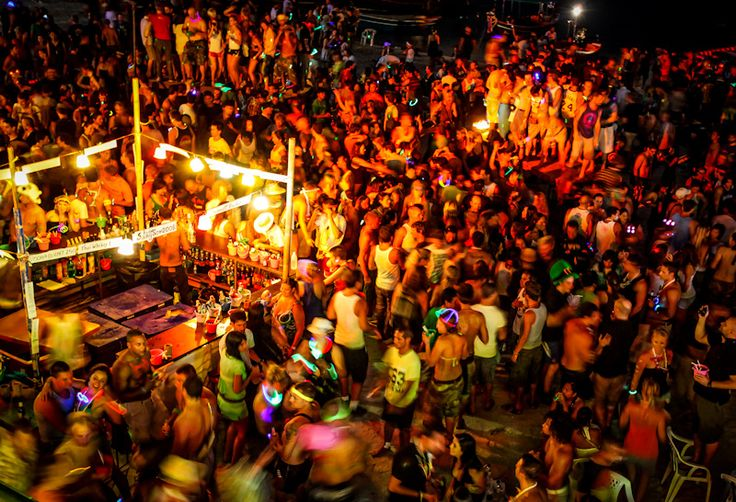Attend a solstice or full moon party.