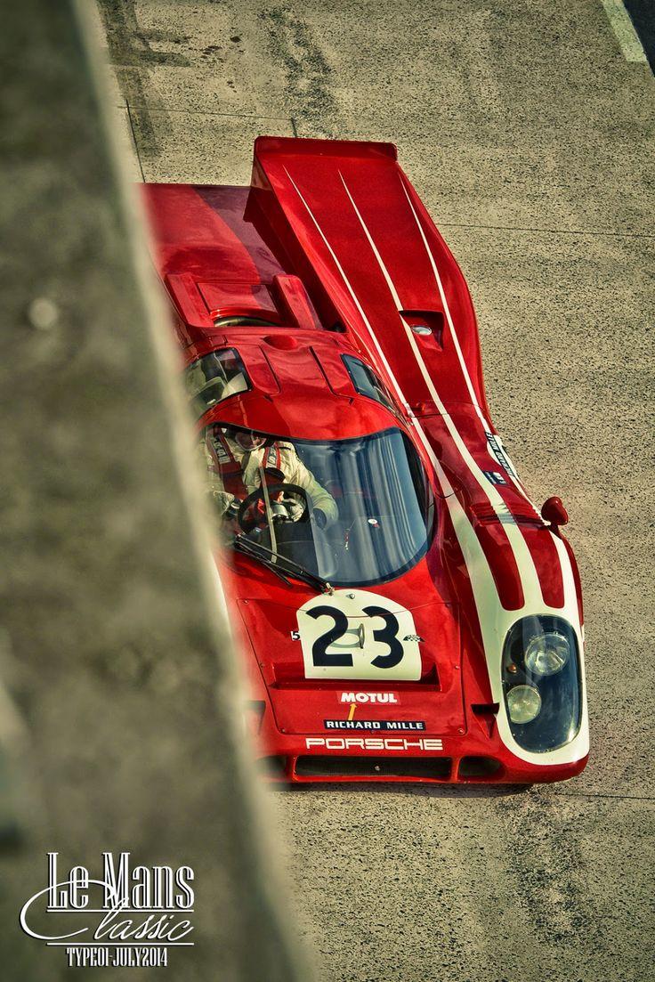 Porsche Le Mans Classic from LE CONTAINER blogspot.