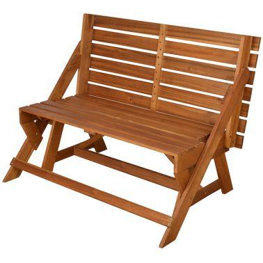 Esschert Design converteerbare bank/picknicktafel BL059[3/10]