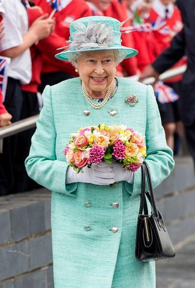 Queen Elizabeth II attends the Opening of the Fifth Session of the National Assembly for Wales at The Senedd on June 7, 2016 in Cardiff, Wales.
