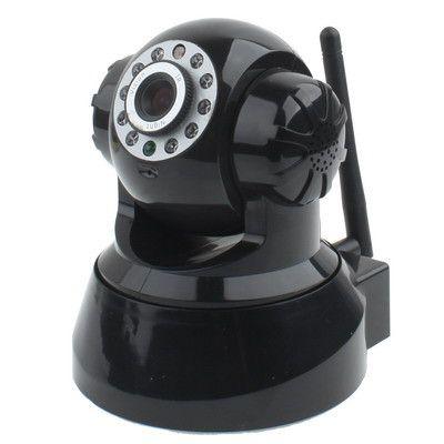 Wireless Pan-Tilt Internet IP Camera, Supports 2 way audio