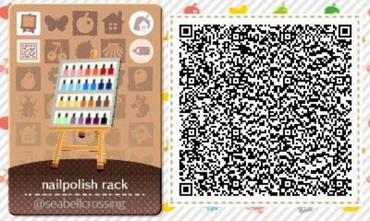 The 28 best images about animal crossing happy home for Sideboard qr
