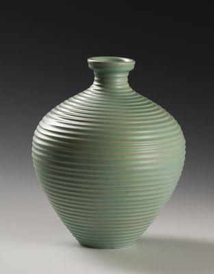 Nora Guldbrandsen ceramics, green