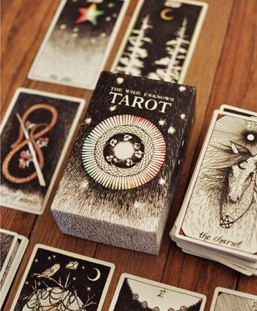 TAROT DECK The Wild Unknown -- love this deck.  Haven't used it for any readings yet, but I had to have it in my collection