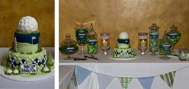 another thought for bucks surprise partee :)Ball Birthday, Theme Birthday, Candies Buffets, Golf Parties, 50Th Birthday, Birthday Candies, Golf Birthday, Birthday Ideas, Golf Theme