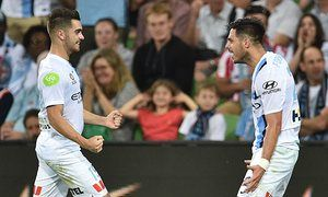 Fornaroli's A-League hat-trick gets Melbourne City past Sydney FC