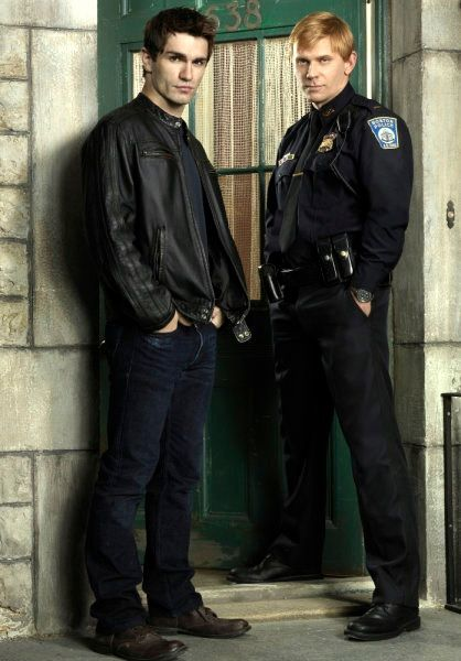 Mark Pellegrino is in Being Human. A mindblowingly amazing villain, as usual. And Sam Witwer of course.